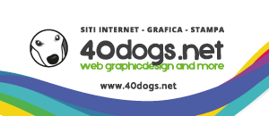 Siti Internet, Grafica e Stampa 40dogs.net - Lago di Garda